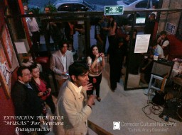 Palabras de inauguración de Carlos Dorado, director del Corredor Cultural NarvArte