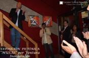 Ventura comparte con los asistentes el proceso creativo de su obra