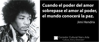 Cuando el poder del amor Jimi Hendrix