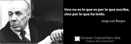 Uno no es JorgeLuis Borges